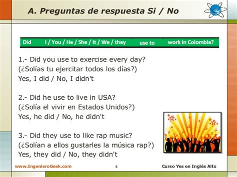 preguntas en ingles con was y were 2 11 oraciones y preguntas con la expresi 243 n used to