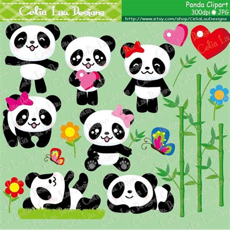 Black Bear Decorations Home by Panda Clipart Cute Panda Clipart Baby Panda Clip Art And