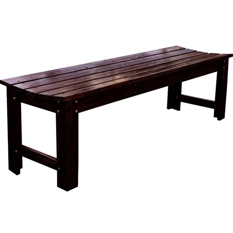 backless benches outdoor backless wood garden bench in outdoor benches