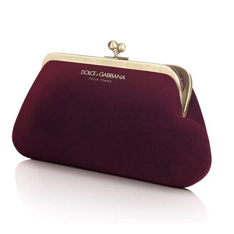 Velvet Clutch dolce gabbana d g gold maroon velvet purse