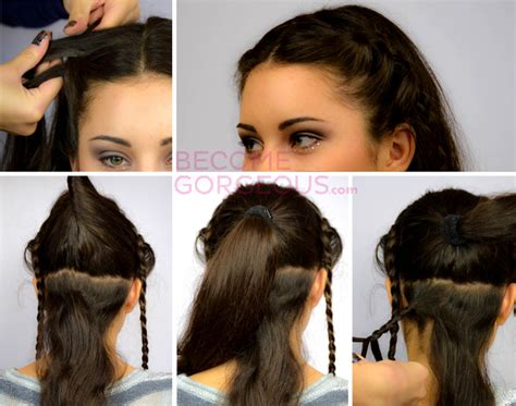 Katniss Everdeen Hairstyles by Katniss Everdeen Wedding Updo Tutorial