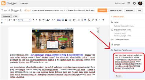 tutorial adsense blogspot 5 cara mudah memaksimalkan seo di blogger tutorial blog