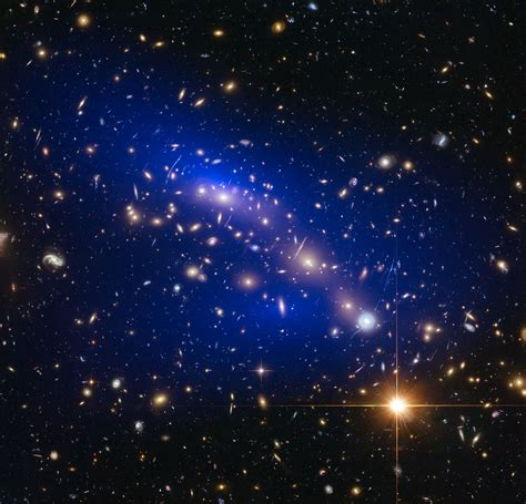 matter universe matter even darker than once thought esa hubble