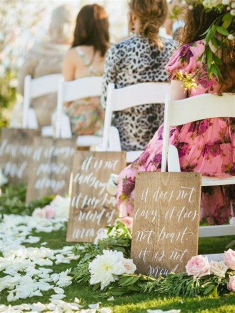 aisle decor ideas that will totally transform your ceremony space weddingbells