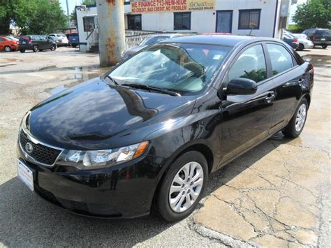 2011 kia forte lx 2011 kia forte lx 4dr sedan 6a in houston tx talisman