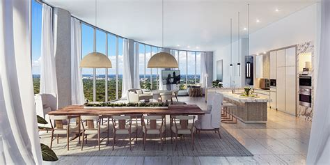 Oma Interiors by One Park Grove A Look Inside Oma S Miami Residences