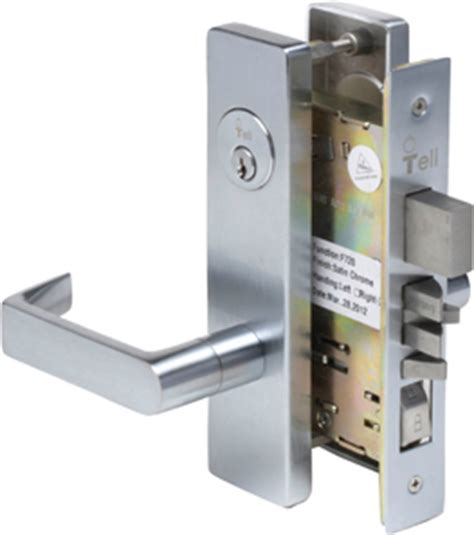 How To Change Commercial Door Lock by Ml1300 Series Mortise Lock Commercial Locks Tell