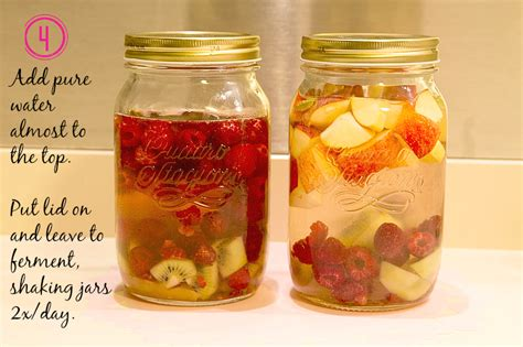 fruit kvass fruity fermented drink kvass