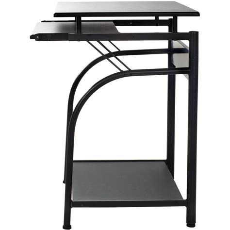 computer desk with pullout keyboard shelf pull out keyboard shelf