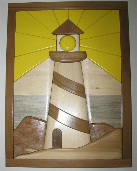 lighthouse patterns woodworking delswood intarsia