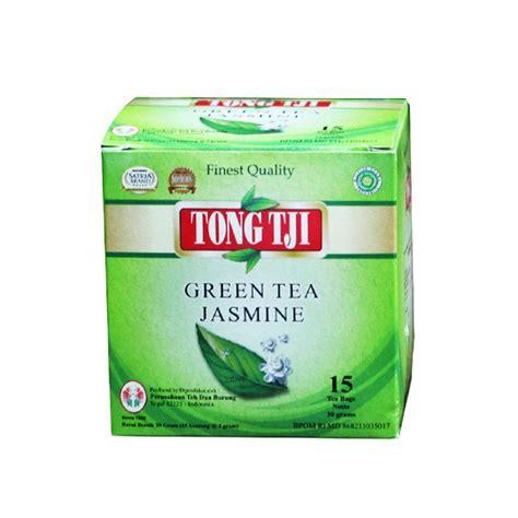 Teh Celup Binahong Dengan Teh Hijau jual tong tji green tea teh celup dengan lop 2 g 15 tea bags 2pcs harga