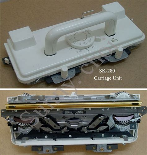 singer knitting machine sk218 sk260 sk280 sk360 sk600 k carriage complete for