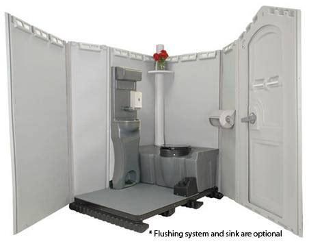 porta potty with sink johnny on the spot