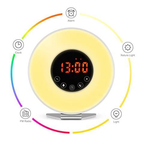 happy light alarm clock wake up light alarm clock digital clock freebie