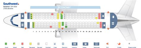 boeing 737 300 plan si鑒es seat map boeing 737 300 southwest airlines quot best seats in