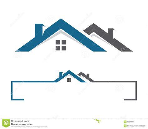 costruzioni dalla casa logo della costruzione e della casa illustrazione