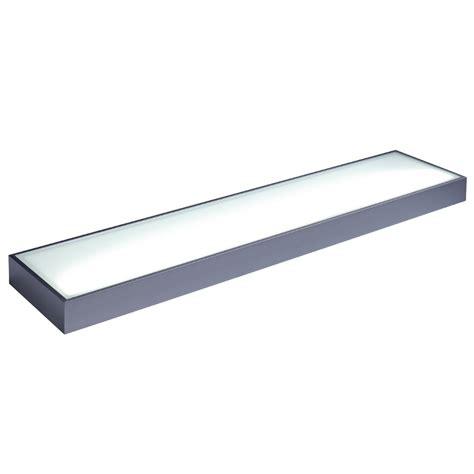 Illuminated Shelf by Arc Illuminated Led Glass Box Shelf