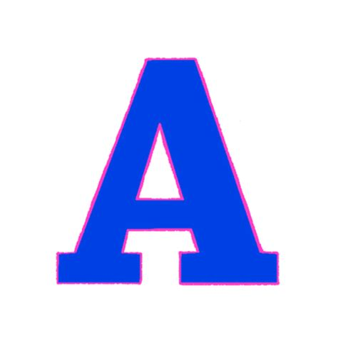 letter a on behance