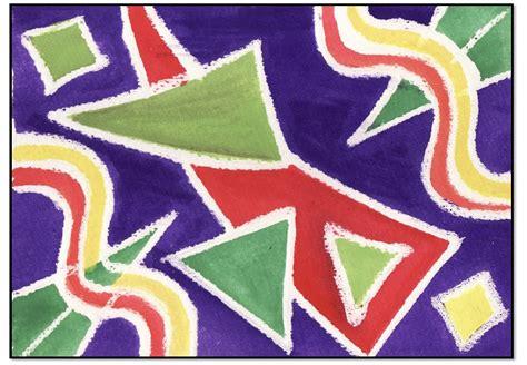 Lukisan Hiasan Dinding Abstrak Deco Flo 3 In 1 1 contoh corak abstrak contoh 36