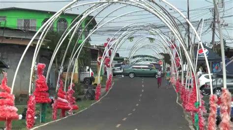 imagenes para decorar las calles en navidad calle de agua de la chorrera popular por su gran