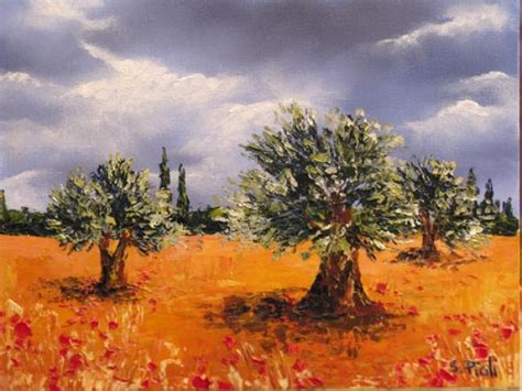 Trees Admirer silver olive trees by sylvie pioli of an admirer