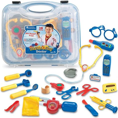 Doctor Set pretend play doctor set 19 pc blue educational