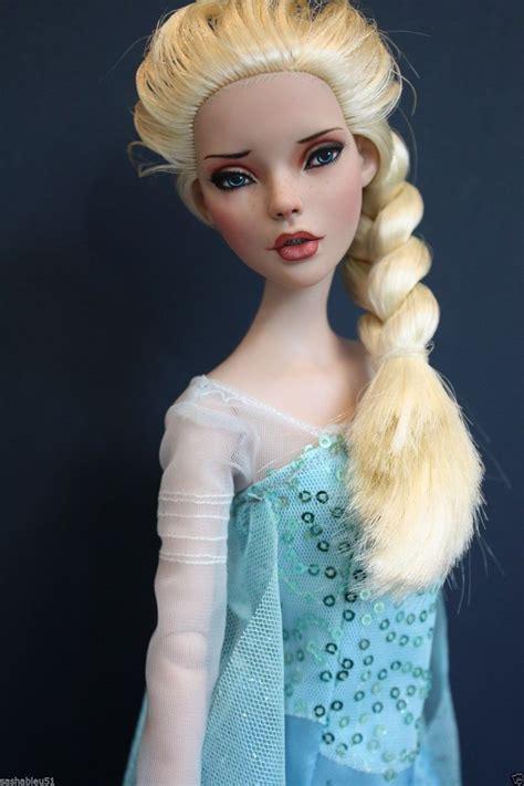 elsa hair style dolls tonner deja vu 16 quot ooak repaint doll quot elsa quot inspired
