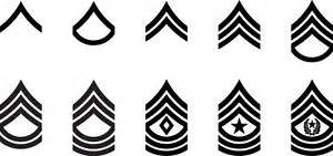 Wall Stickers Stripes set of 2 us army ranks vinyl sticker decals e 2 private