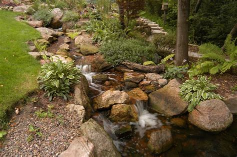 backyard streams and waterfalls island garden features in beaufort sc ponds waterfalls
