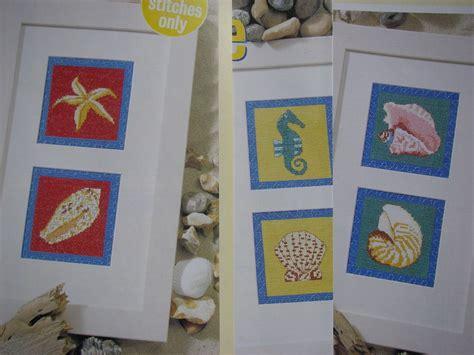 Handmade Craft Site - seahorse starfish conch nautilus cone scallop shell cross