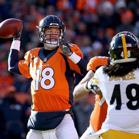 nfl qbs on facebook goodbye farewell and amen steelers deangelo williams calls out peyton manning ahead