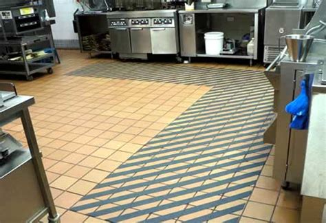commercial kitchen flooring options global safe technologies solve commercial kitchen