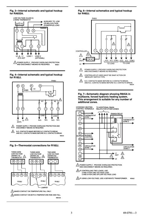 honeywell r845a wiring diagram in line pa system wiring