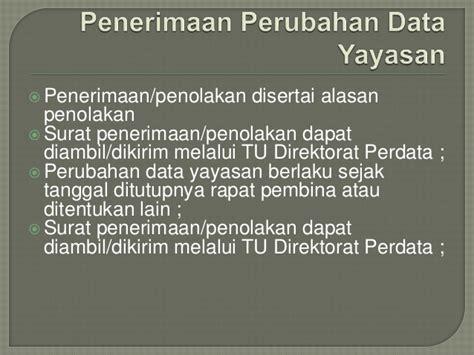 ketentuan membuat yayasan modul yayasan dalam sabh 22 april 2013