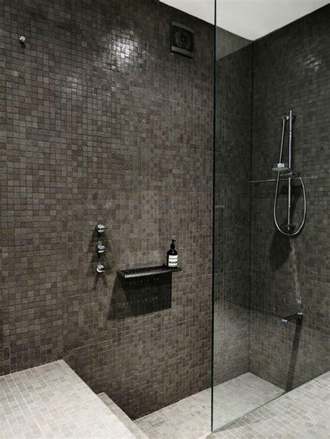 sunken shower home design ideas pictures remodel  decor