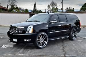 Rims For A Cadillac Escalade Cadillac Escalade Esv Custom Wheels Ac 312 26x10 0 Et
