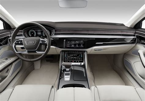 Audi A8 Innenraum by 2018 Audi A8 Officially Revealed Performancedrive