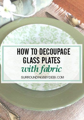 How To Decoupage Glass - best 25 decoupage glass ideas on diy