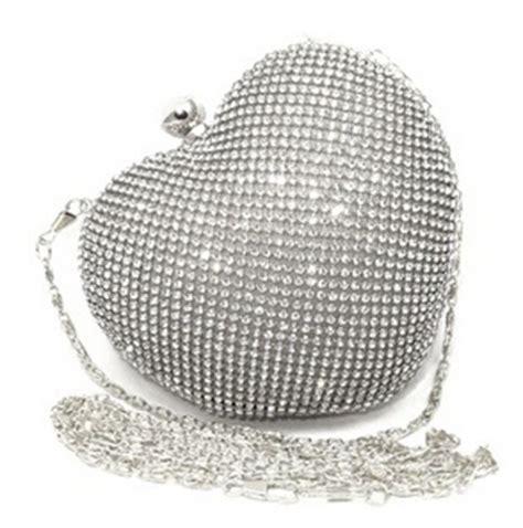 Cluth Lokal Tas Selempang Handbag 6 shape rhinestone gold evening clutch bag handbag dinner silver clutch purse