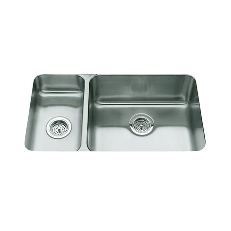 kohler undertone undercounter stainless steel 32 in