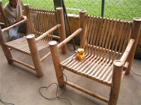 How To Make Bamboo Chair by Bamboo Furniture Nifty Homestead