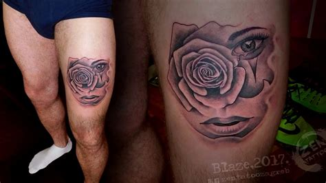zen tattoo pictures zen tattoo chicano rose girl tattoo by blaze youtube