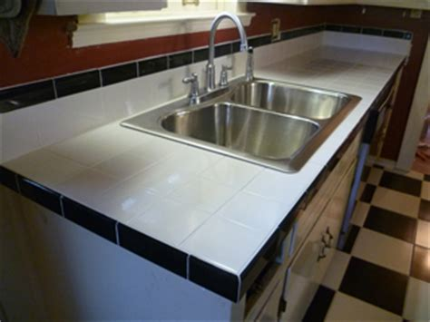 White Tile Countertops by Inspired Remodeling Tile Bloomington Indiana