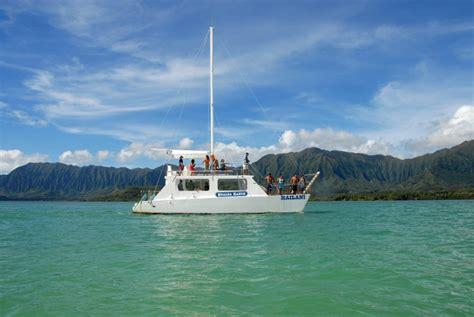 catamaran boat tour oahu - Catamaran Boat Tour Oahu Ocean Voyage Tour