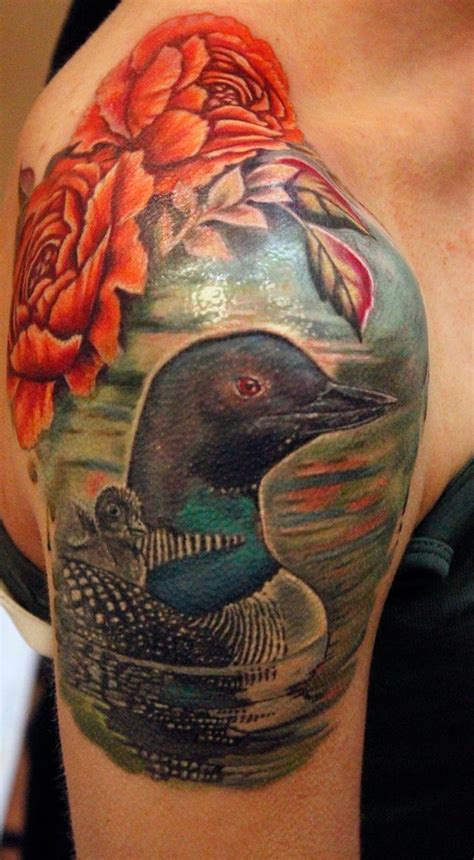 loon tattoo 25 best loon ideas on