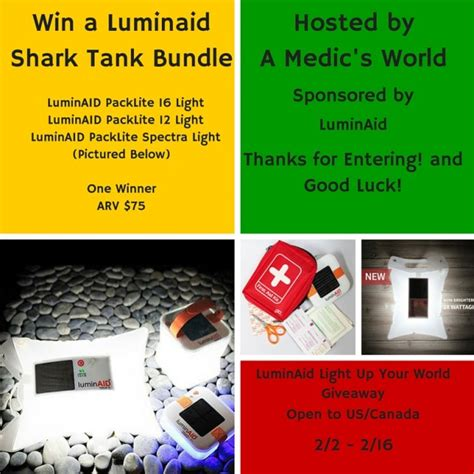 World Giveaways - luminaid light up your world giveaway us can ends 02 16 pink ninja blogger