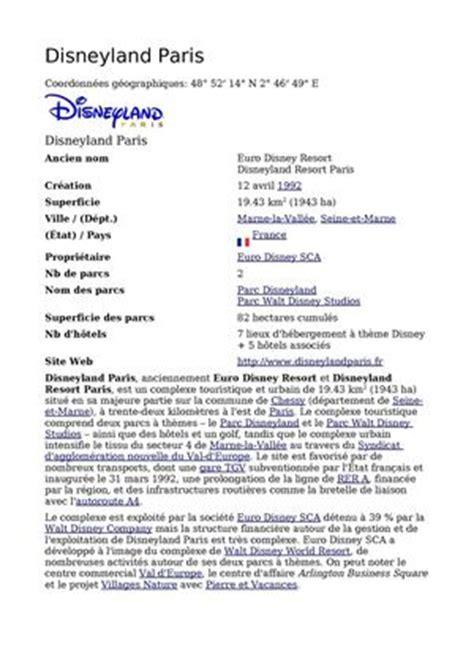 Exemple De Lettre De Motivation Pour Walibi Calam 233 O Disneyland De A 224 Z Compilation De