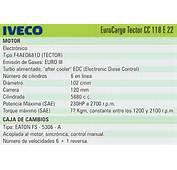 – Carrocer&237a Ruby Sobre Chasis Iveco Tector CC118 E22 32 Puestos