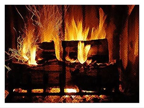 fireplace loop warm up by the fireplace loop