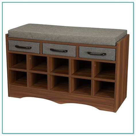 kids storage bench with cushion indoor bench cushion 48 x 18